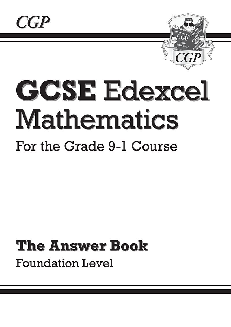 Gcse Maths Edexcel Revision Guide Foundation For The Grade 9 1