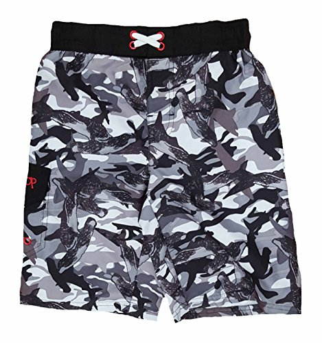 ocean-pacific-boys-black-shark-camo-swim-shorts-small