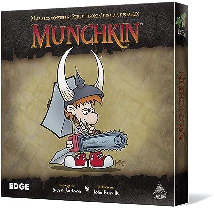Edge Munchkin MU01 - juego de mesa: Amazon.es: Juguetes y juegos