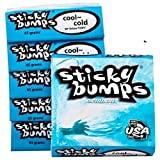 Sticky Bumps Cool/Cold Water Surfboard Wax 5 Pack