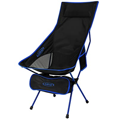 G4Free Lightweight Portable Chair Outdoor Folding Backpacking Camping Lounge Chairs for Sports Picnic Beach Hiking Fishing (Dark Blue) : Sports & Outdoors [5Bkhe0405257]