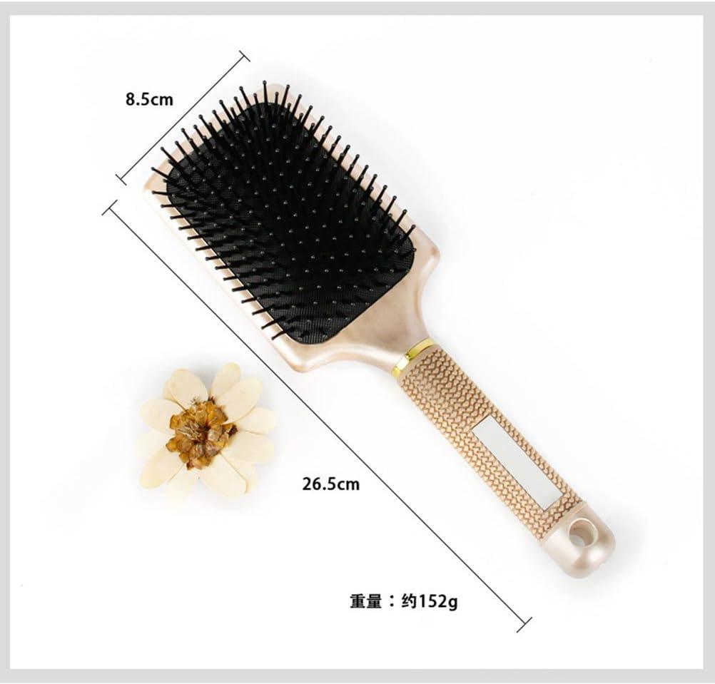 golden Artibetter Paddle hair brush for women men kids stimulate scalp help growth add hair shine