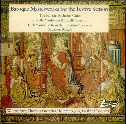 Baroque Masterworks for the Festive Season by Turnabout / Vox Historical Series