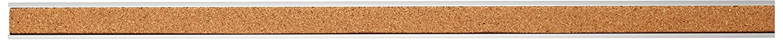 18-Inch Width Cork Surface Anodized Aluminum Frame Lorell Bulletin Bar Self-Sealing Cork Strip