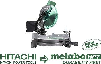 Compound Miter Saw C10FCG recon Hitachi 10 in