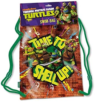 Amazon.com: Personaje de teenage mutant ninja turtles bolsa ...