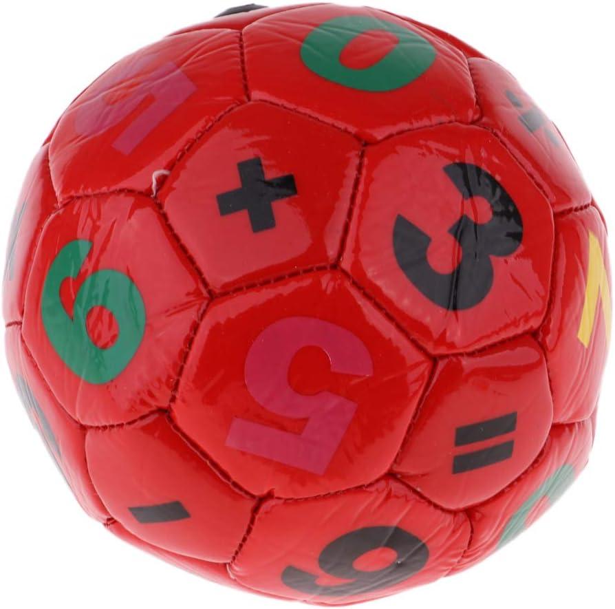F/útbol para Entrenamiento de Deportes B Blesiya Pelota de Cuero para Ni/ños