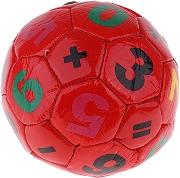 F Fityle Juguete de Balón de Fútbol para Niños 3-6 años de Cuero ...