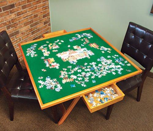 Mary Maxim Puzzle Table