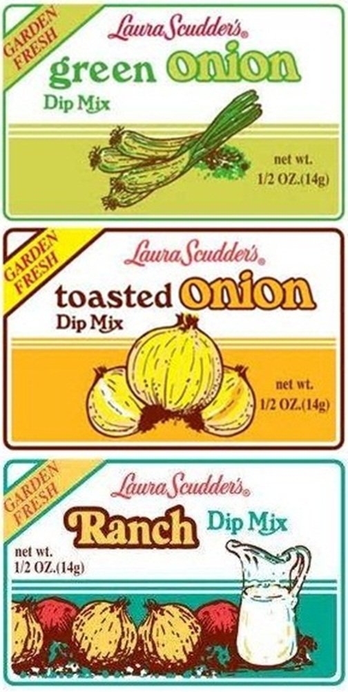 Laura Scudder's BIG 3 Dry Dip Mixes (Pack of 12) by Laura Scudder's