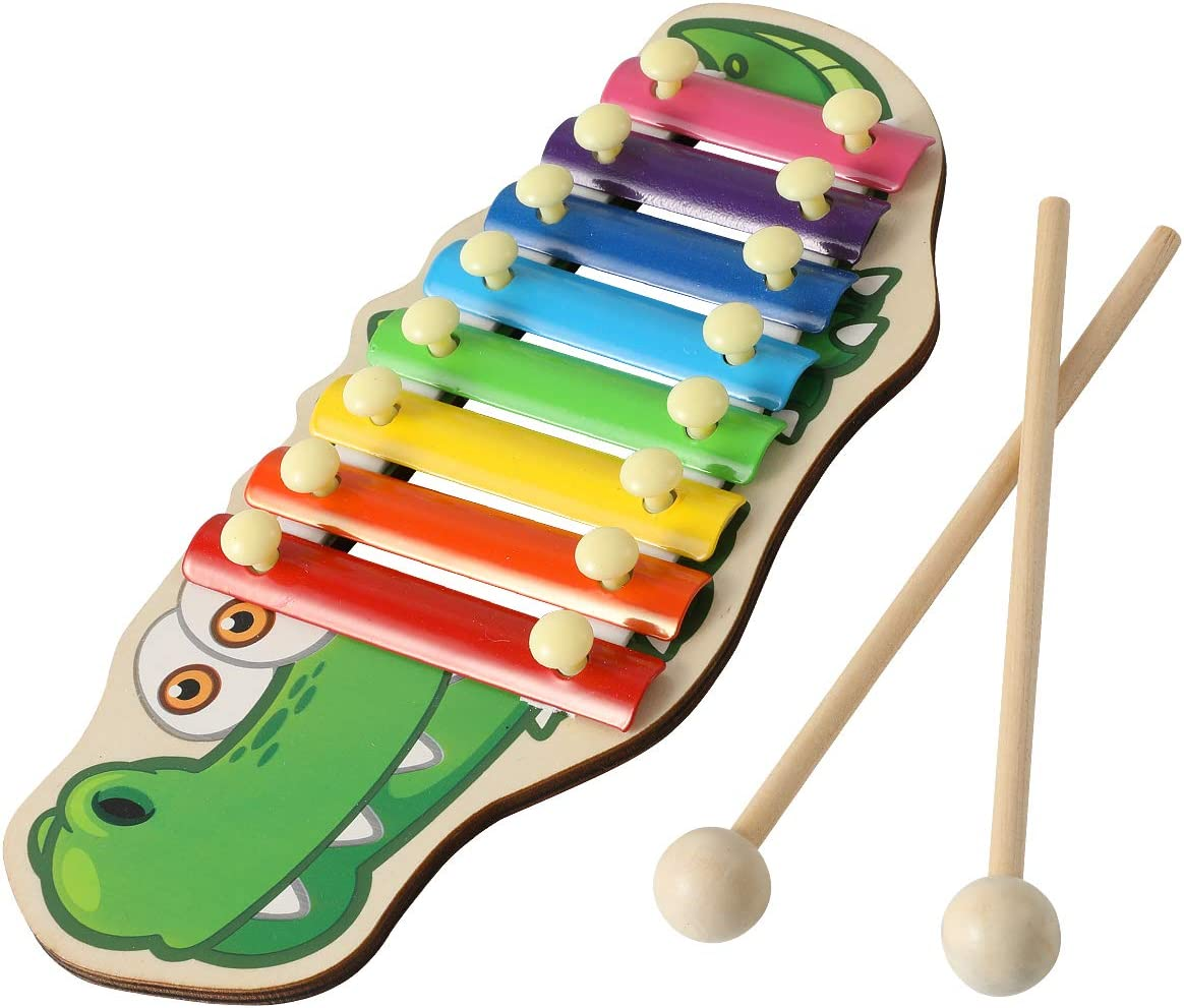 5-Note Xylophone Musical Toys Gifts For Baby Child Girls Boy Toy Development