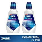 Oral-B Enjuague Bucal Oral B 3d 473ml, 2 Unidades, Pack of 1