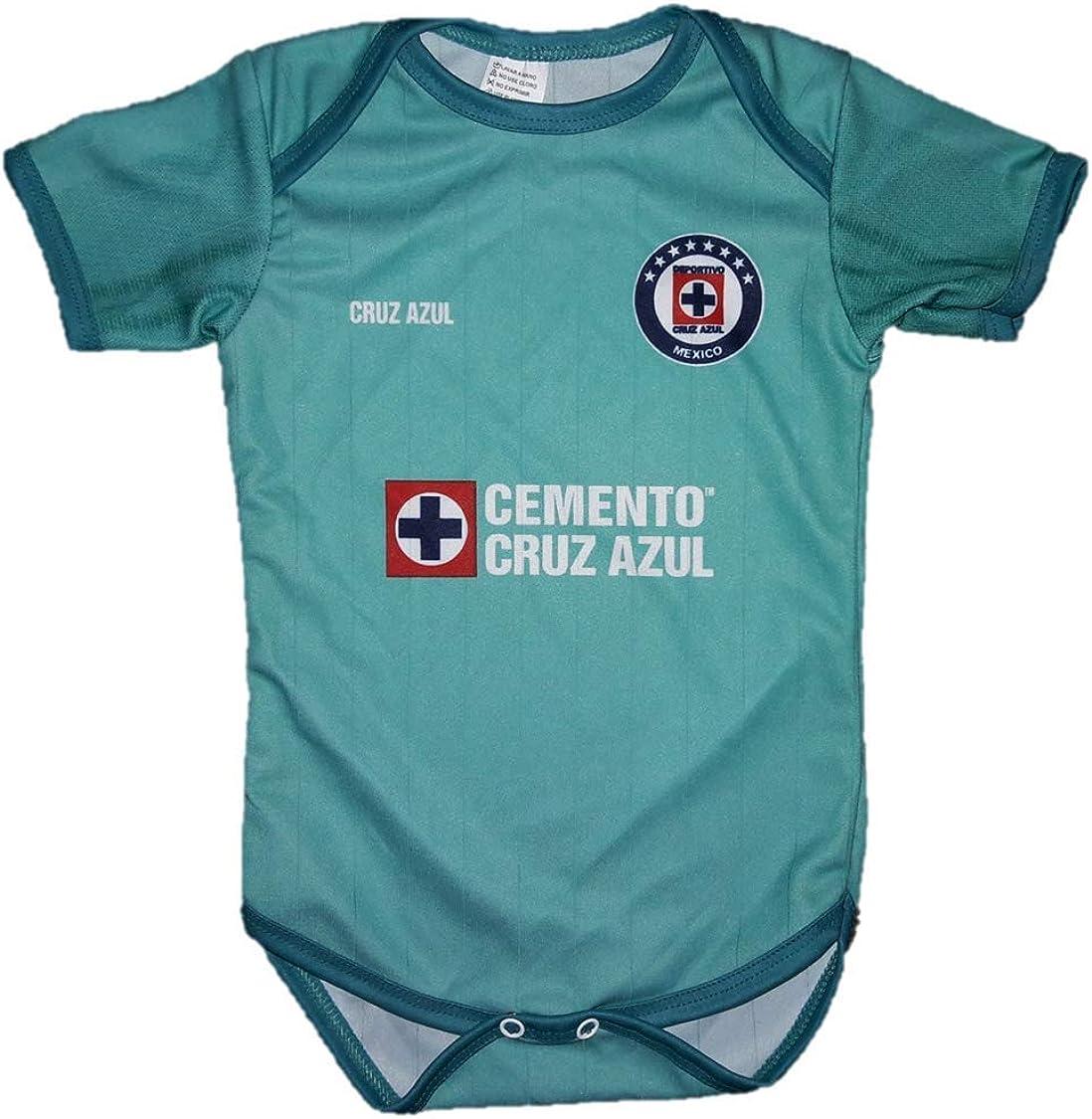 Deportivo Cruz Azul Third Baby Jersey Baby Jumpsuit Bodysuit Futbol Liga MX