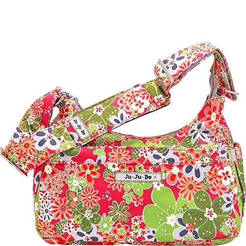 Ju-Ju-Be Classic Collection HoboBe Purse Diaper Bag, Perky Perennials (Perennials Fabric)