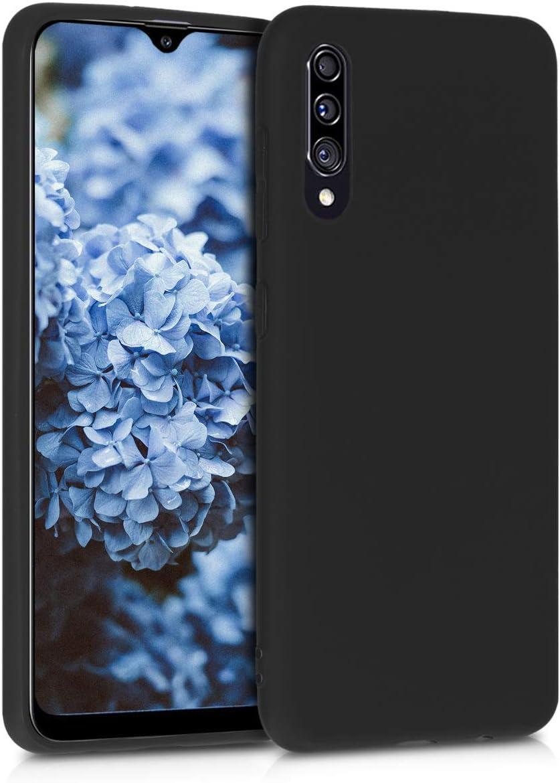 Protector Trasero en Amarillo azafr/án kwmobile Funda Compatible con Samsung Galaxy A30s Carcasa de TPU Silicona