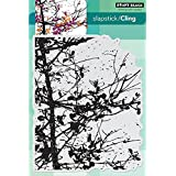 Penny Black Cling Rubber Stamp 5-inch x 7.5-inch Sheet-Soft Whisper