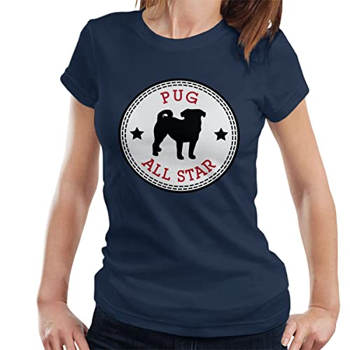 Coto7 Pug All Star Women'S T-Shirt