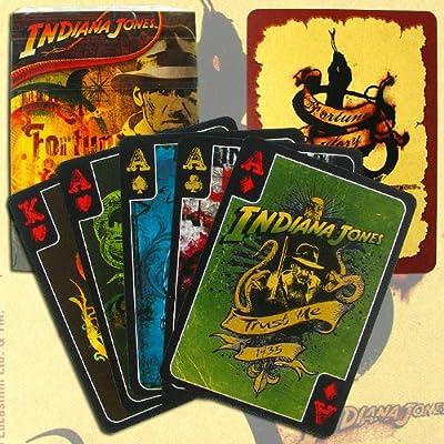 BBG Indiana Jones Urban Art - Juego de cartas de póquer (1 baraja): Amazon.es: Deportes y aire libre