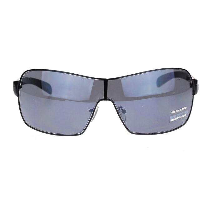 Amazon.com: Gafas de sol para hombre, diseño italiano, sin ...