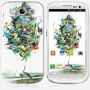 Galaxy S3 case - Skinkin - Original Design : Aqualegia by Archan Nair by icecream design