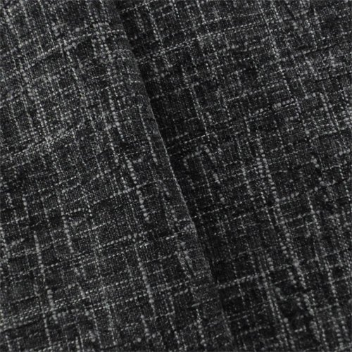 Black/White Crosshatch Tweed Home Decorating Fabric, Fabric by The Yard