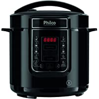 Panela de pressão, Digital inox Ppp01p, 6L, Preto, 110v, Philco
