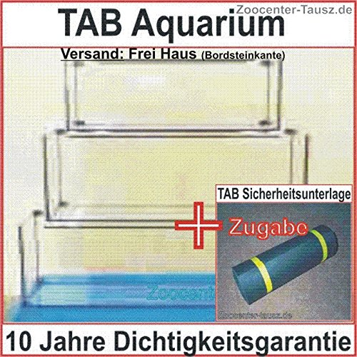 TAB Würfelaquarium Aquarium Würfel 60x60x60cm / Liter 216 / Glas 10mm