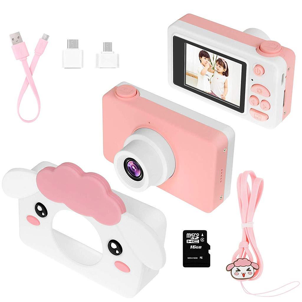 Sdoveb Kids Camera Gifts for Girls 2 IPS Screen Mini Child Video Camera Camcorder (Multicolor) by Sdoveb (Image #2)