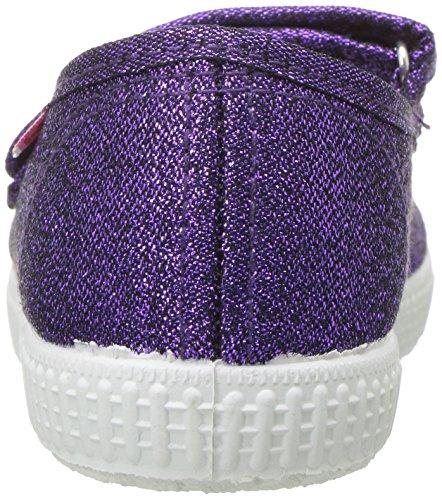 Cienta 56013 Glitter Mary Jane Fashion Sneaker,Purple,27 EU (9.5 M US Toddler) by Cienta (Image #2)
