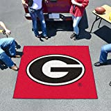 Huge NCAA Georgia Bulldogs Logo Indoor/Outdoor Tailgater Floor Mat 72''
