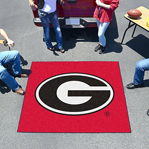 Huge NCAA Georgia Bulldogs Logo Indoor/Outdoor Tailgater Floor Mat 72'' by Unknown