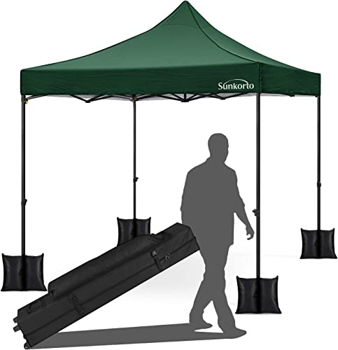 Sunkorto 10×10 Ft Pop up Canopy Tent