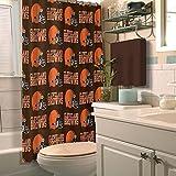 Northwest NFL Cleveland Browns Shower Curtain
