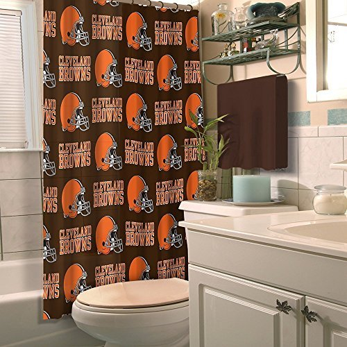 Northwest NFL Cleveland Browns Shower Curtain - Cleveland Browns Shower Curtain