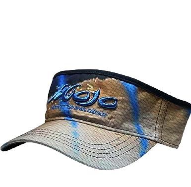 8f08c2a23ca1e8 M-VSSBMT-Mojo Sublimated Visor-Marlin-One Size at Amazon Men's ...