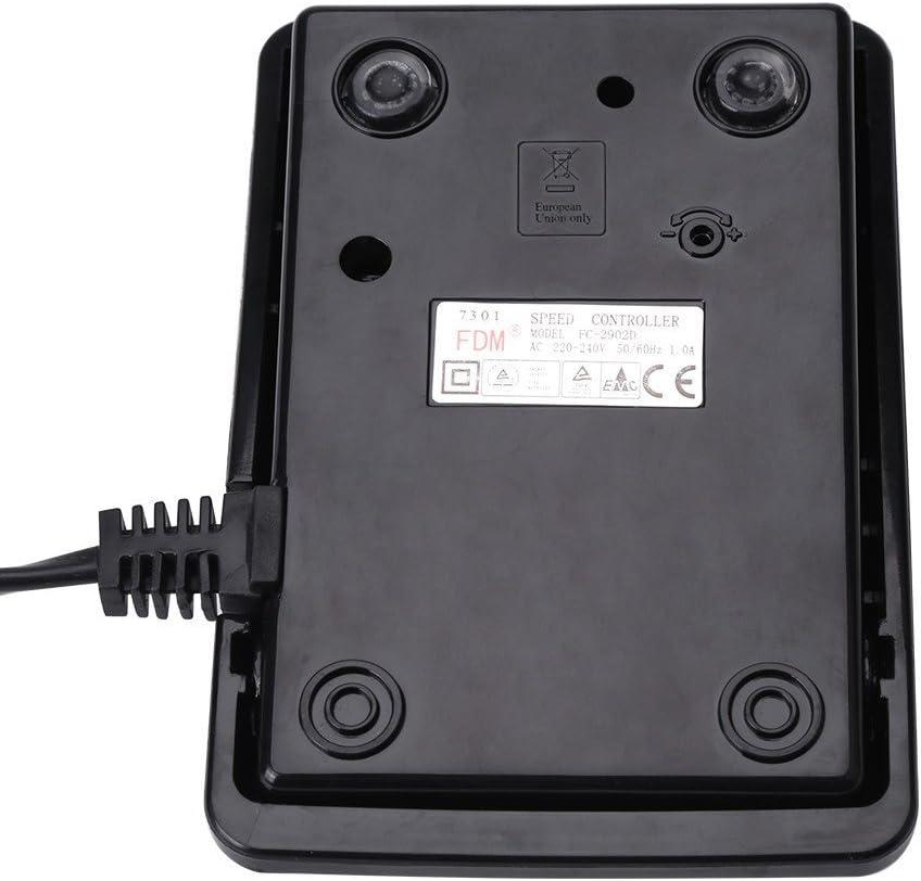 Steuerung mit Kordeln GLOGLOW 1pc elektronische fu/ß fu/ß geschwindigkeitsregler Pedal n/ähmaschine ersatzteile f/ür die s/ängerin EU Plug