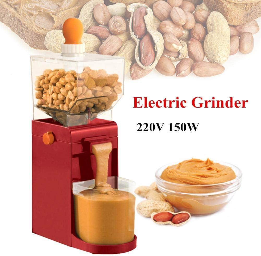 Molinillo eléctrico de 220 V, molinillo de café en grano eléctrico, 500ML Máquina de mantequilla de maní portátil Molinos de granos eléctricos Molinillo para café, maíz, maní, anacardos Avellanas