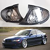 MZORANGE Left Right Signal Light Covers Turn Corner Lamp Lamp Shade Replacement for BMW E46 3-Series 4DR 2002-2005 (Left and Right)