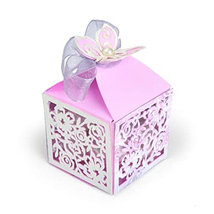 Sizzix Thinlits Troqueles 3PK Caja de sorpresas mariposa