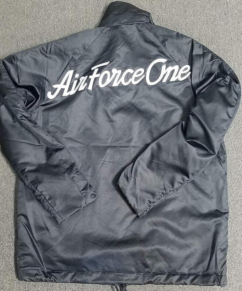 Nike AF1 Air Force 1 Woven Varsity Jacket Bronze Black