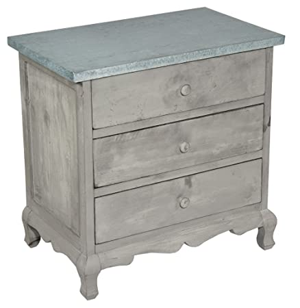 Rustic French Provincial Shabby Chic Furniture Grey Colour Washed