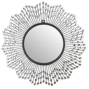 Lulu Decor, Celebration Wall Mirror, Decorative Mirror, Frame Size 24 , Perfect for Housewarming Gift (Mirror)