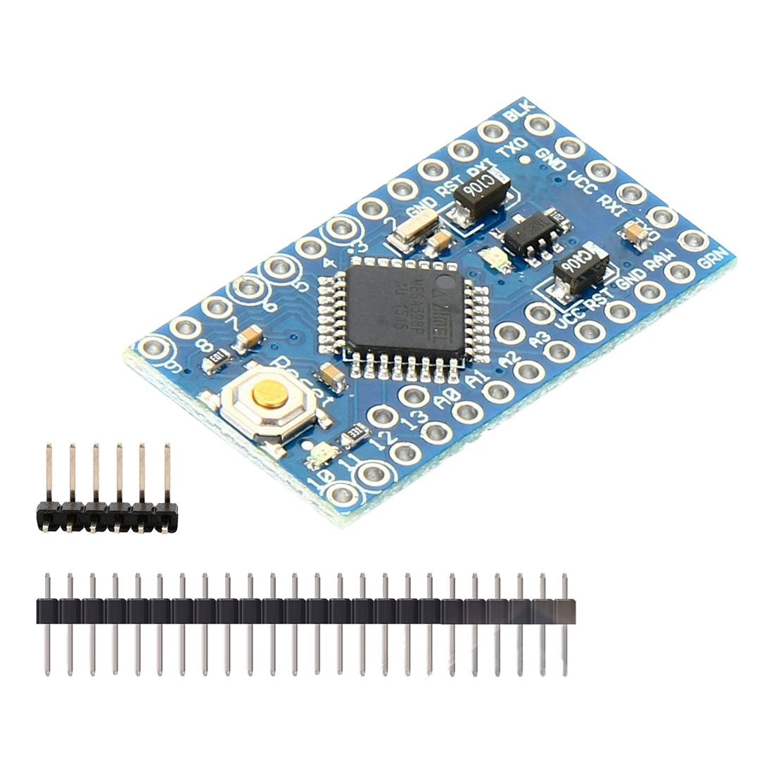 SODIAL 5pc Pro Mini Enhancement ATMEGA328P 16MHz 5V Compatible Arduino Pro Module