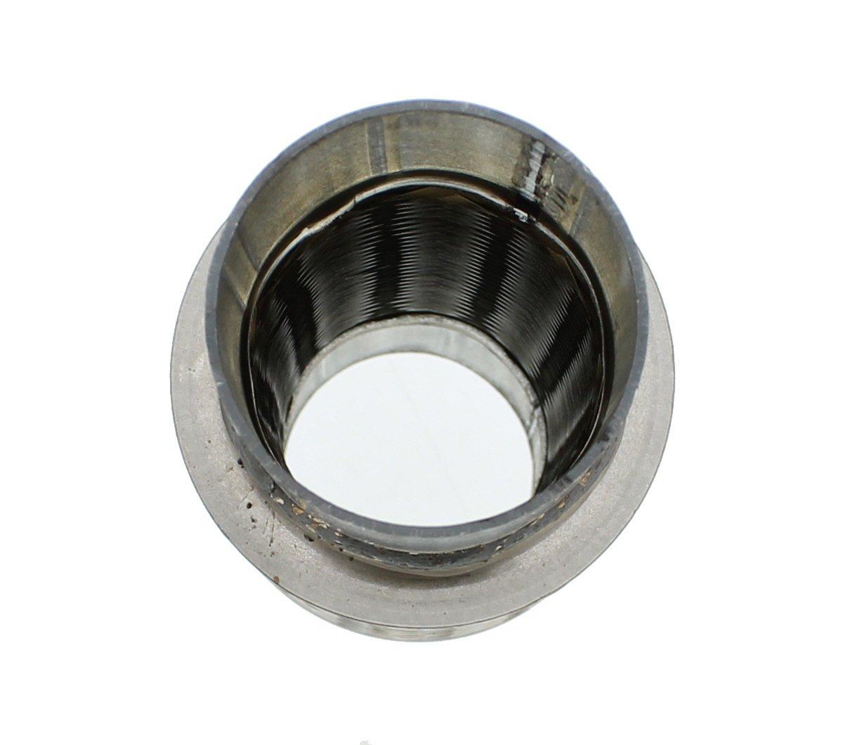 10 2 x 6 Jones Exhaust FLX2006N Stainless Steel Flex Exhaust Tube