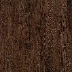 Bruce Hardwood Floors CB1277 Dundee Plank Solid Hardwood Flooring, Mocha