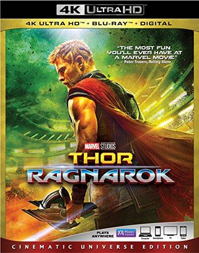 THOR: RAGNAROK 4K Ultra HD [Blu-ray] (Bilingual)