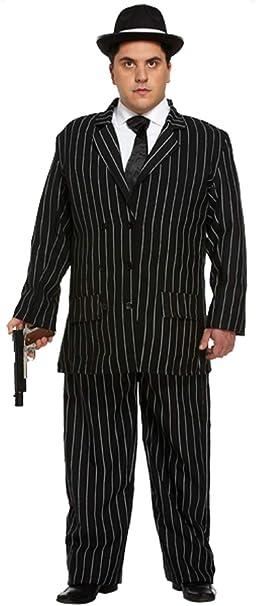 para Mayores de para Hombre 1920s Gangster Great Gatsby Traje de ...