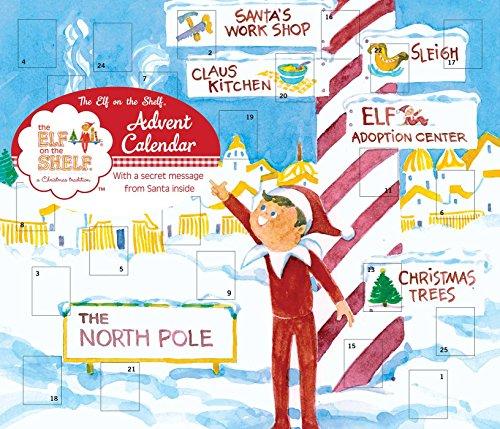 The Elf on the Shelf Advent Calendar (Advent Ideas Message Calendar)
