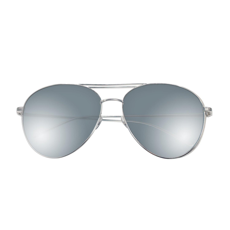 Aviator Sunglasses, Jeroen Side Sunglasses for women Aviator Metal Sunglasses