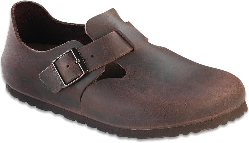 7885d745fff5ea Birkenstock Women s London 36 Narrow Habana Oiled Leather